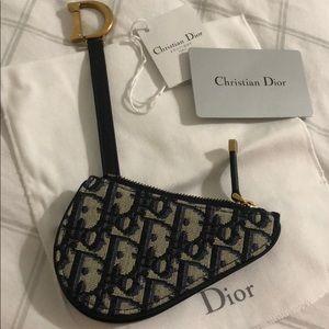 Dior Accessories Dior Oblique Saddle Purse Nwt Poshmark